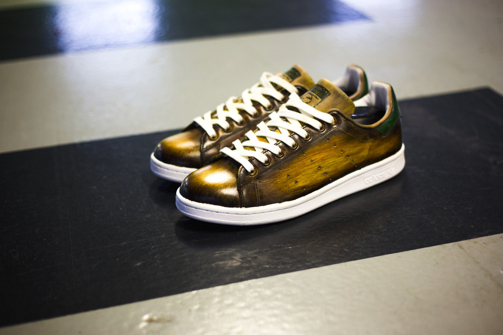 Florence-Monteil-Patine-cuir-adidas-stan-smith-custom-brown-03