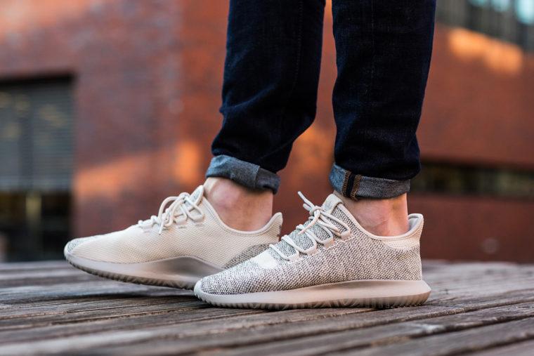 Mens Adidas Tubular Shadow Grey Grey Off White Trainers Shoes