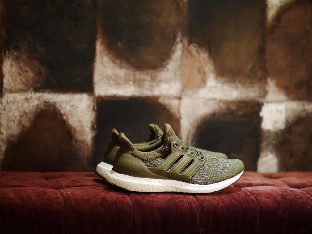 ADIDAS ULTRA BOOST 3.0 OLIVE COPPER PEARL GREY BA8847