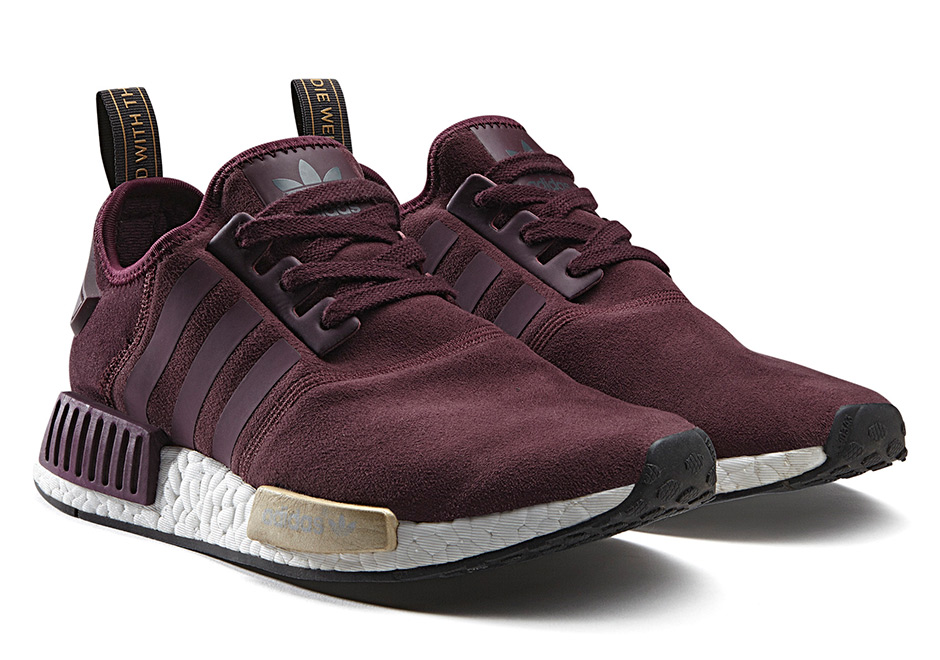 adidas womens NMD Runner Suede
