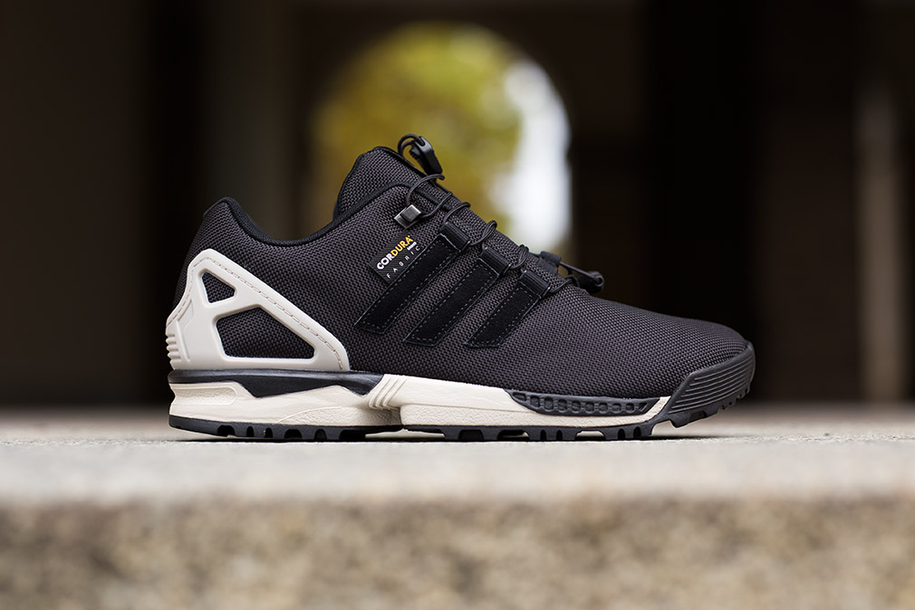 adidas zx flux winter black sneakers addict. Black Bedroom Furniture Sets. Home Design Ideas