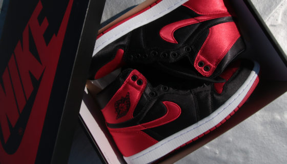 Air Jordan 1 Bred Satin