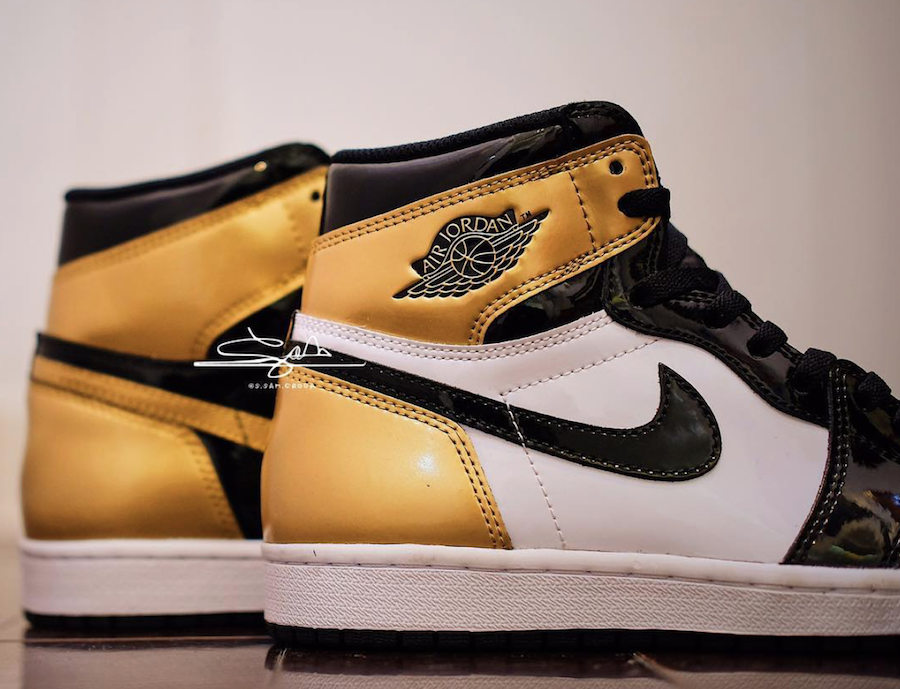 Air Jordan 1 Gold Toe : release date