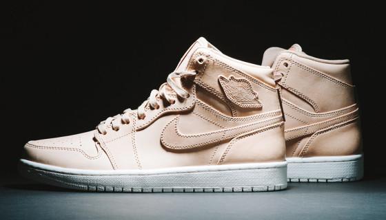 "Air Jordan 1 High ""Pinnacle"" Tan Leather"