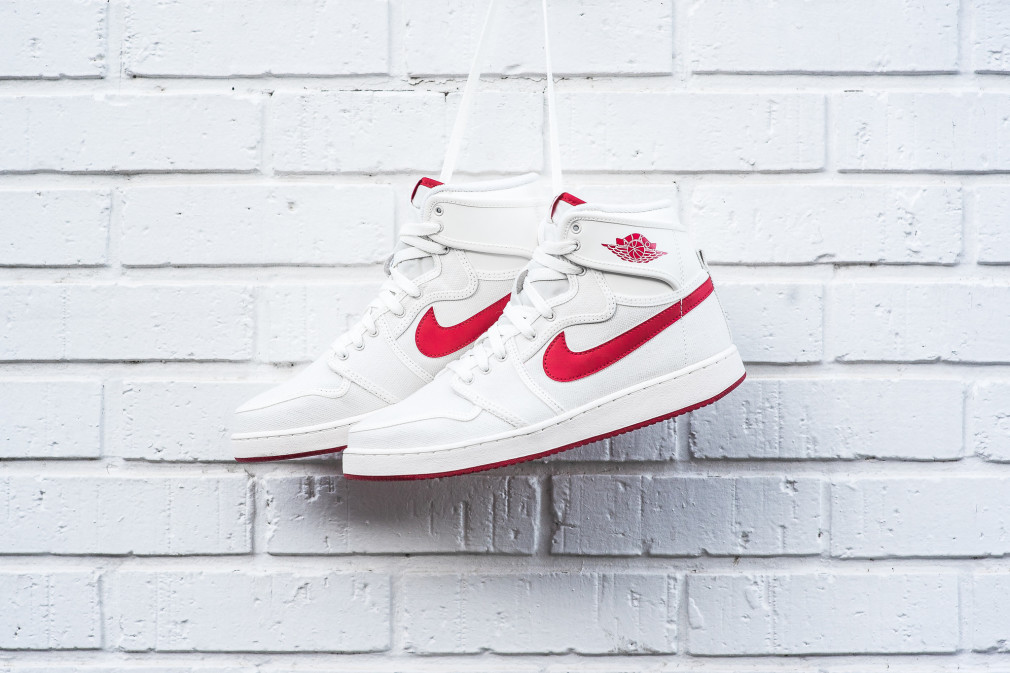 Air Jordan 1 KO High OG Sail/Varsity Red