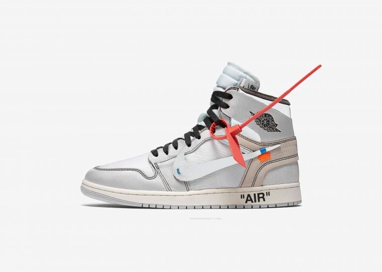 Air Jordan 1 Off White White