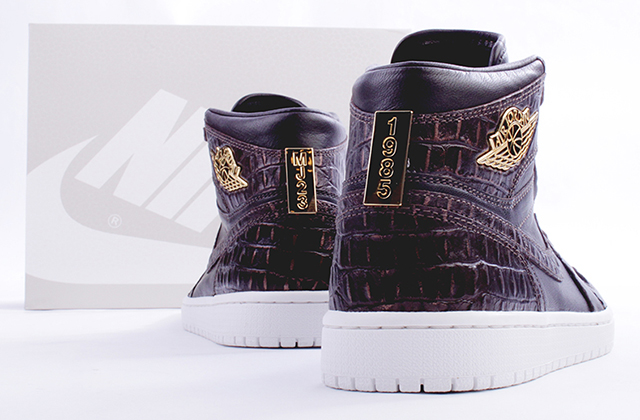 AIR JORDAN 1 PINNACLE Croc Brown
