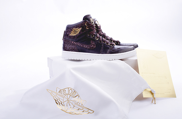 AIR JORDAN 1 PINNACLE (BAROQUE CROC)