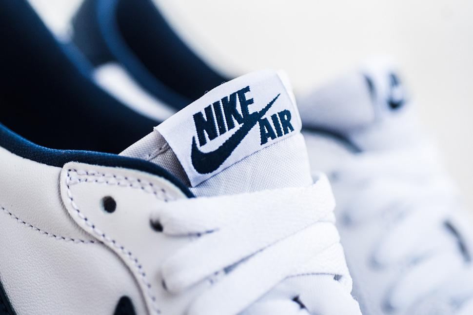 """Air Jordan 1 Retro Low OG """"White/Midnight Navy"""" (Detailed Pics & Release Info)"""