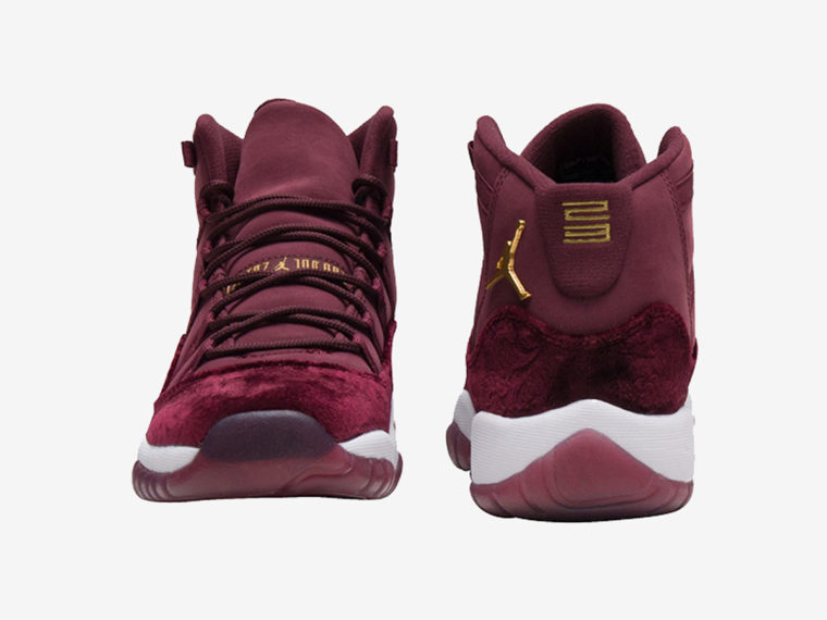 Air Jordan 11 GG Heiress Red Velvet