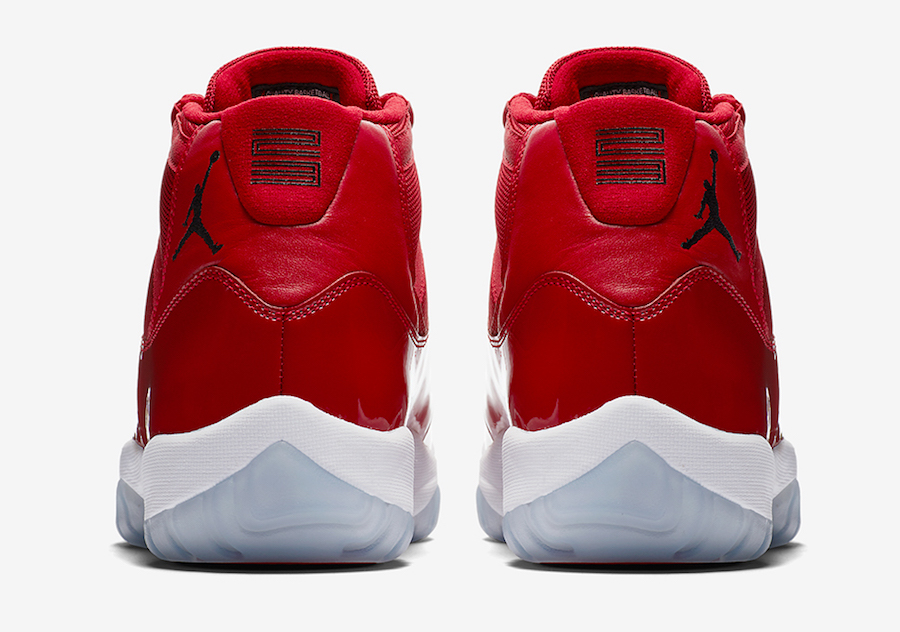 Air Jordan 11 Win like 96 release date