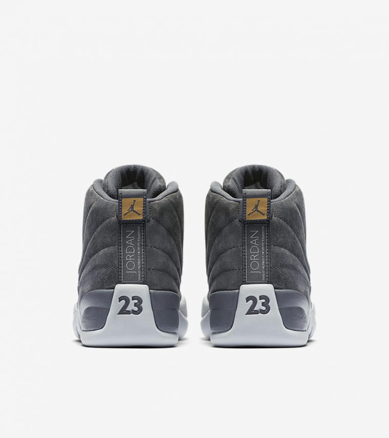 Air Jordan 12 Dark Grey