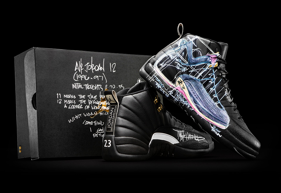 Air Jordan 12 Retro x Mark Smith xTinker Hatfield for Doernbecher