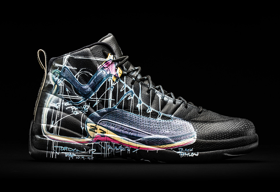Air Jordan 12 Retro x Mark Smith x Tinker Hatfield for Doernbecher