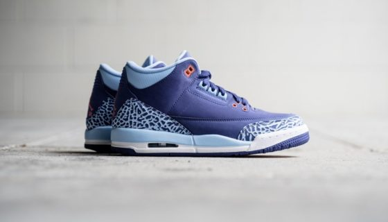 Air Jordan 3 GS Dark Purple Dust
