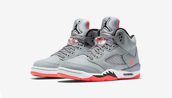 """Air Jordan 5 GG """"Hot Lava"""" – Premières images"""