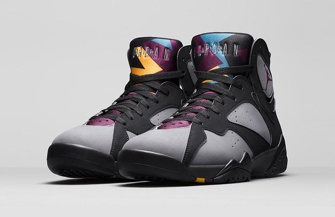 Air jordan 7 retro bordeaux 2015 sneakers addict for Retro bordeaux