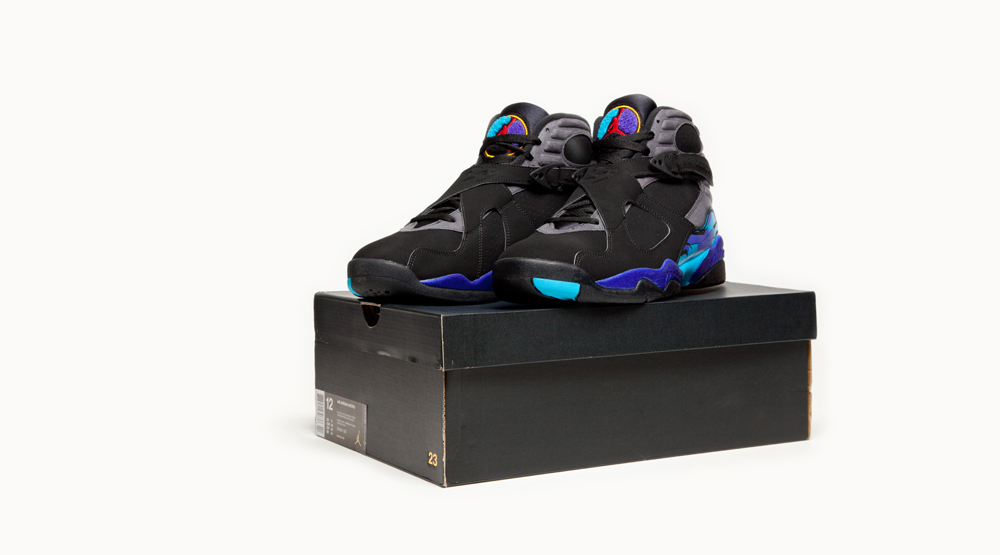 Air Jordan 8 Aqua Comparaison