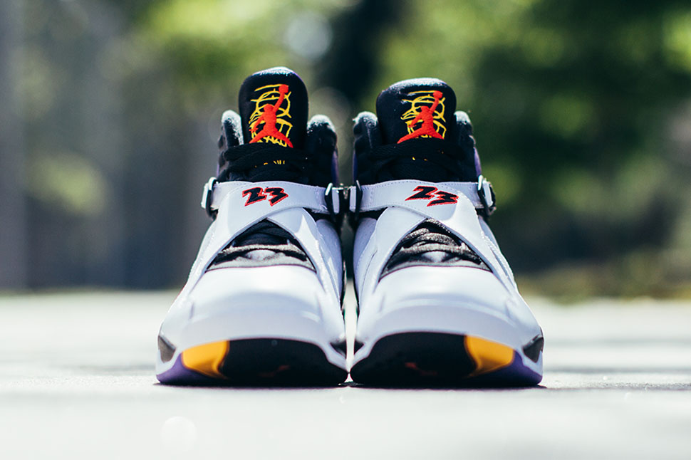 "Air Jordan 8 Retro ""Three Peat"" (Detailed Pics & Release Date)"