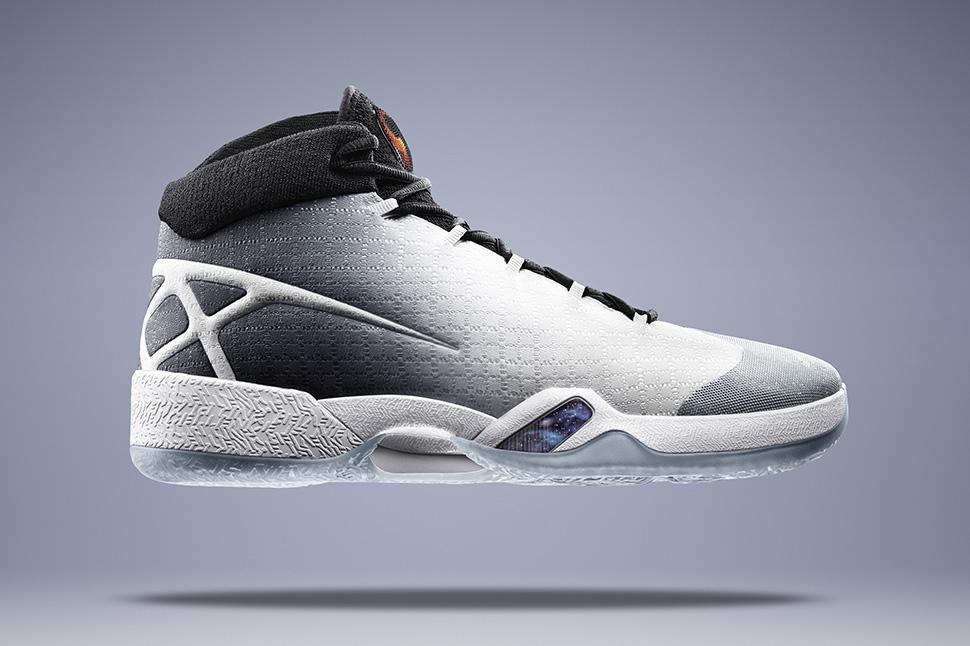 Air Jordan XXX WhiteWolf Grey Black
