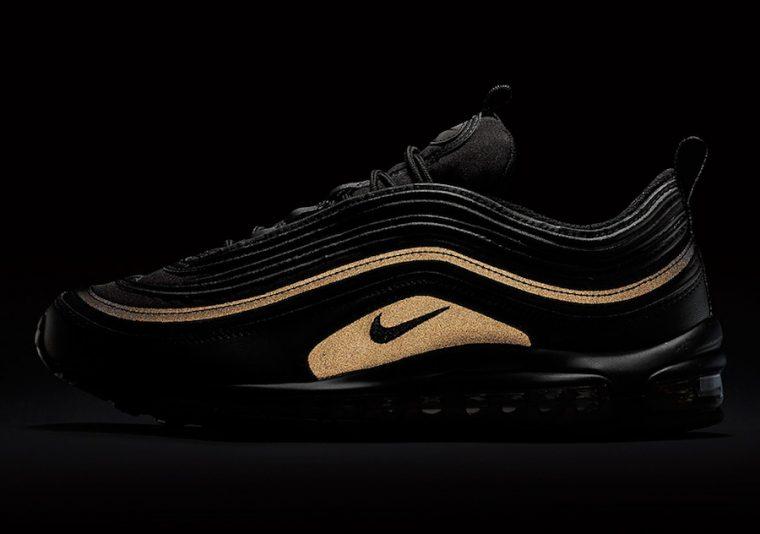 ... Air Max 97 Black Gold Reflective