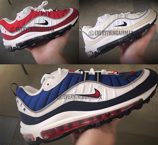 The Nike Air Max 98 Gundam Is Coming Back In 2018 Wave
