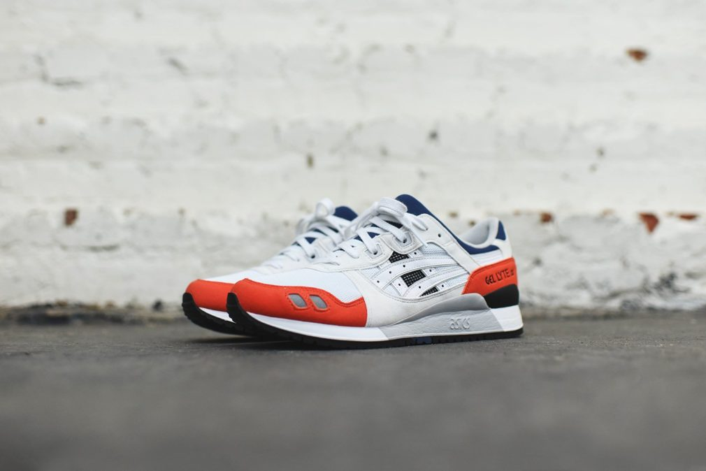 Asics Gel Lyte III White Orange