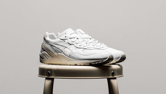 Asics Gel Sight White Leather