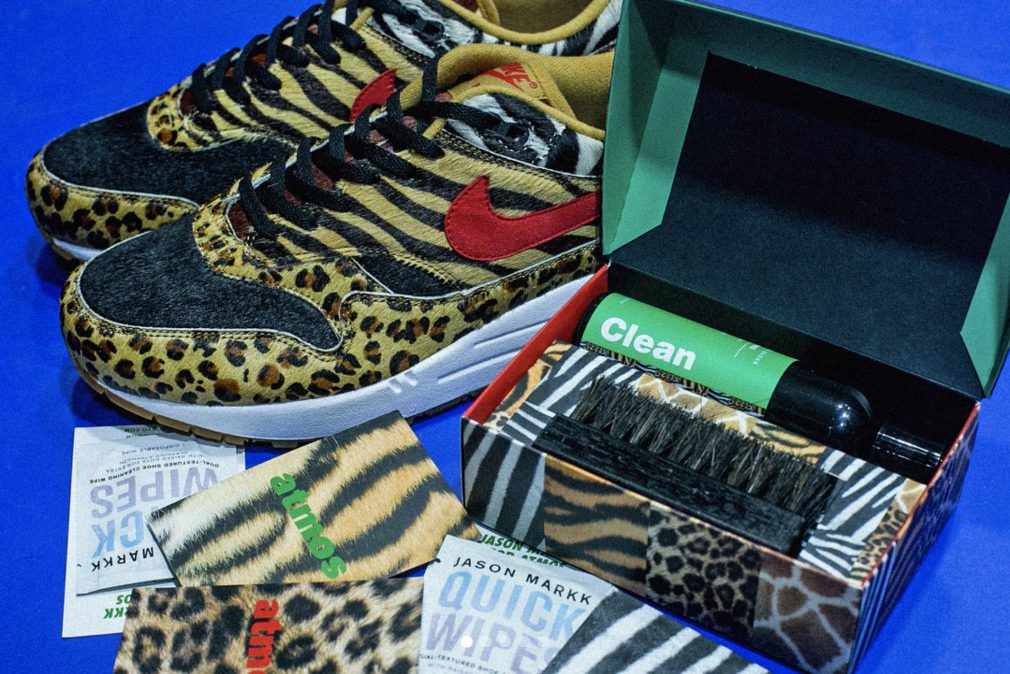 Atmos x Nike Air Max Supreme Animal Pack 2018 Jason Markk