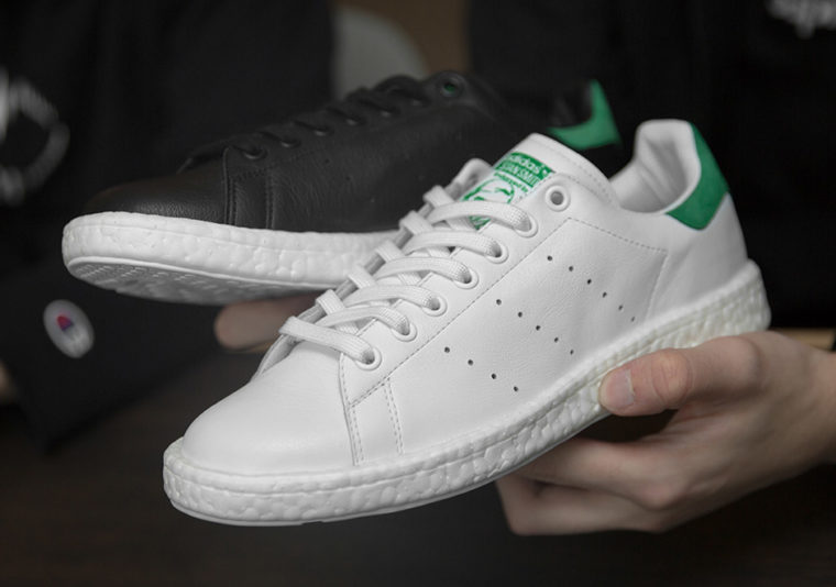 attaque Adidas sur la Stan Smith Boost