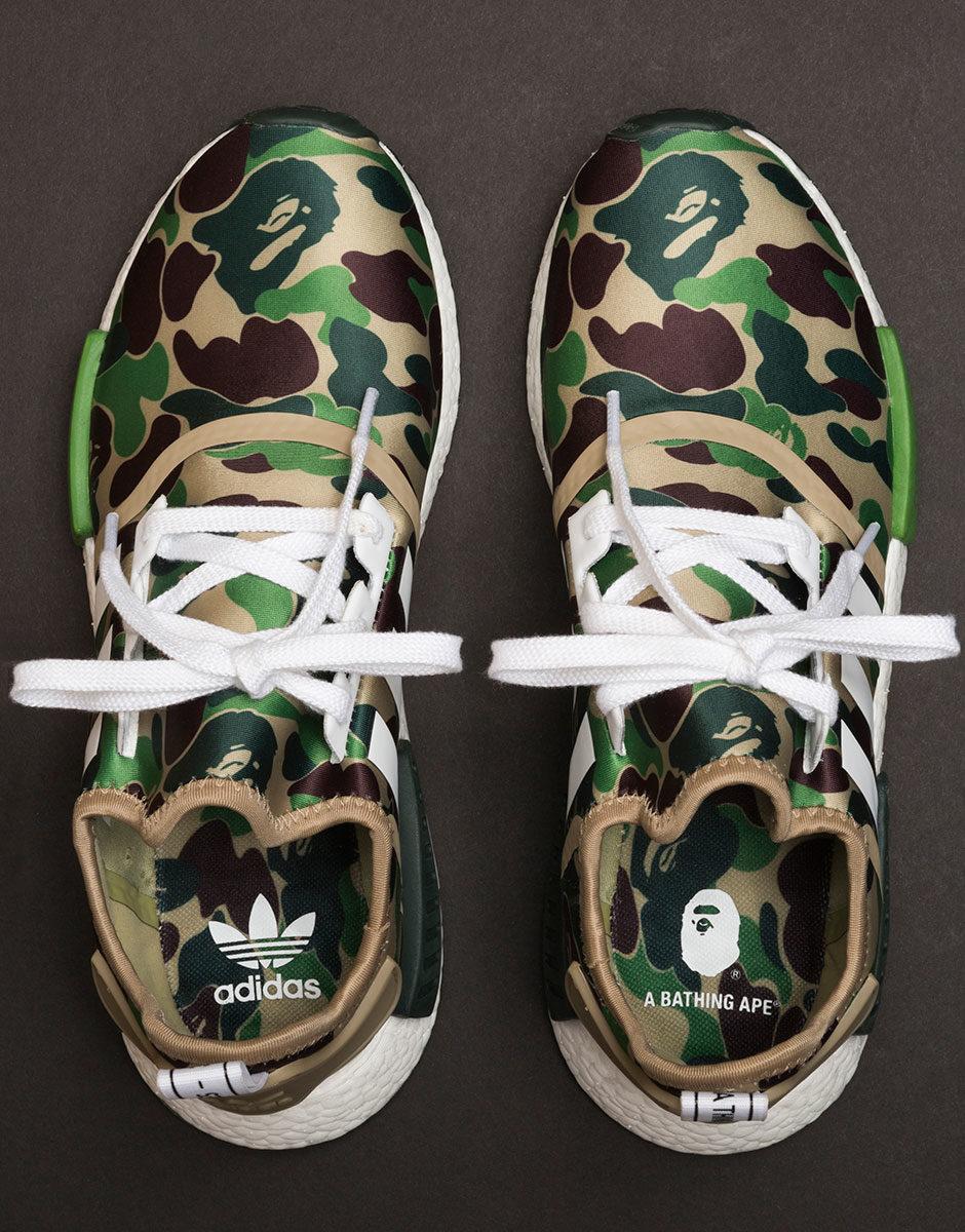 bape x adidas nmd_r1 camo