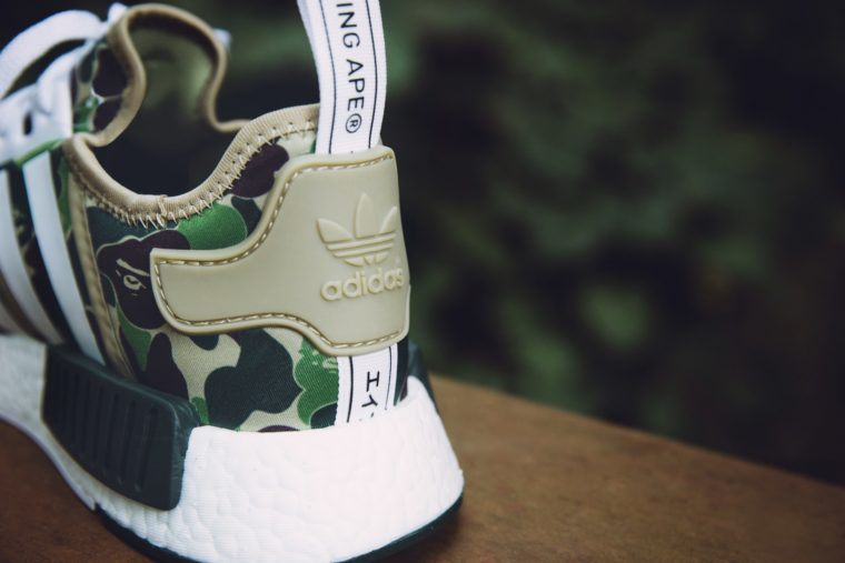 huge selection of a45a4 8dca1 ... Bape x Adidas NMD R1 Camo ...