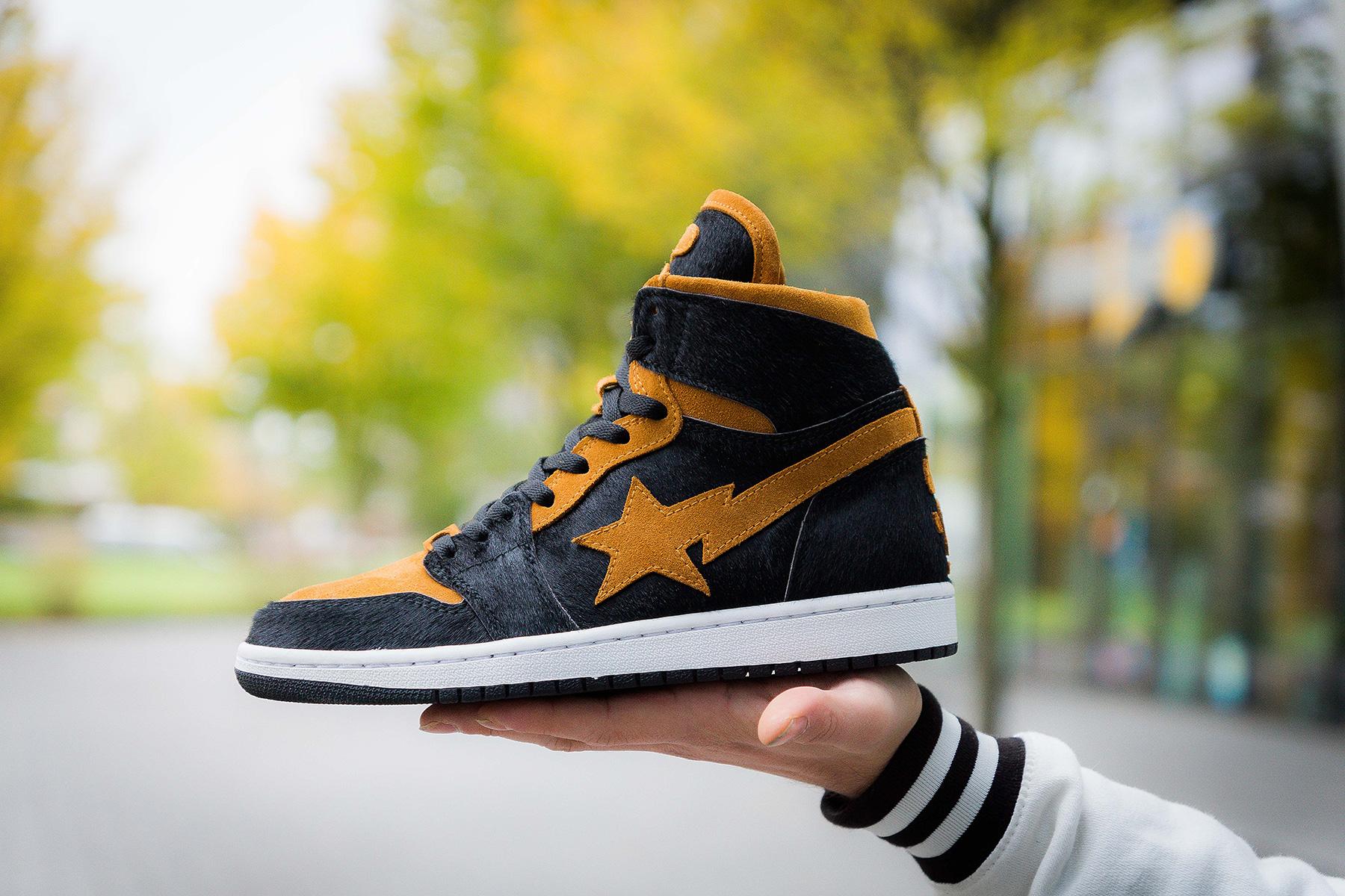 online store 62990 44919 ... custom BAPE x Air Jordan 1. credit photos   Jens Ulmann. BAPE ...
