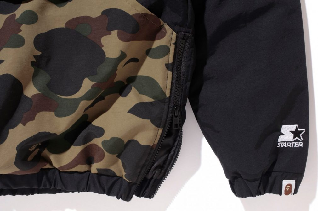 Bape x Starter Black Label