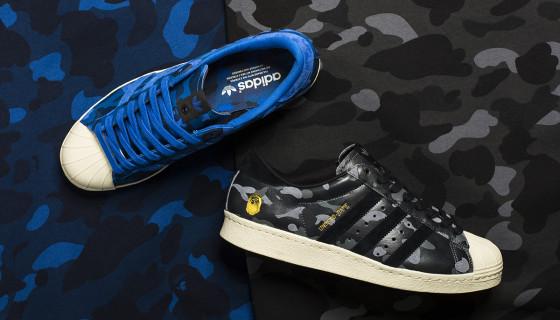 BAPE x UNDFTD x adidas Consortium Superstar 80