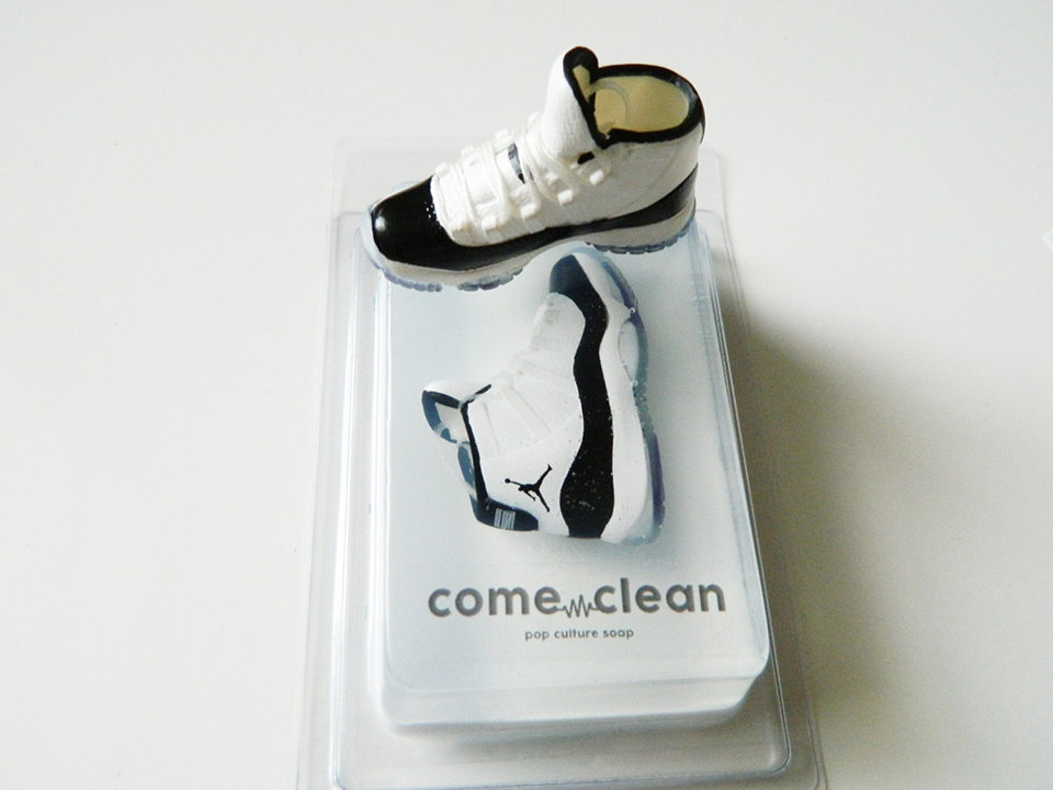 come_clean_sneaker_soaps_air jordan XI concord