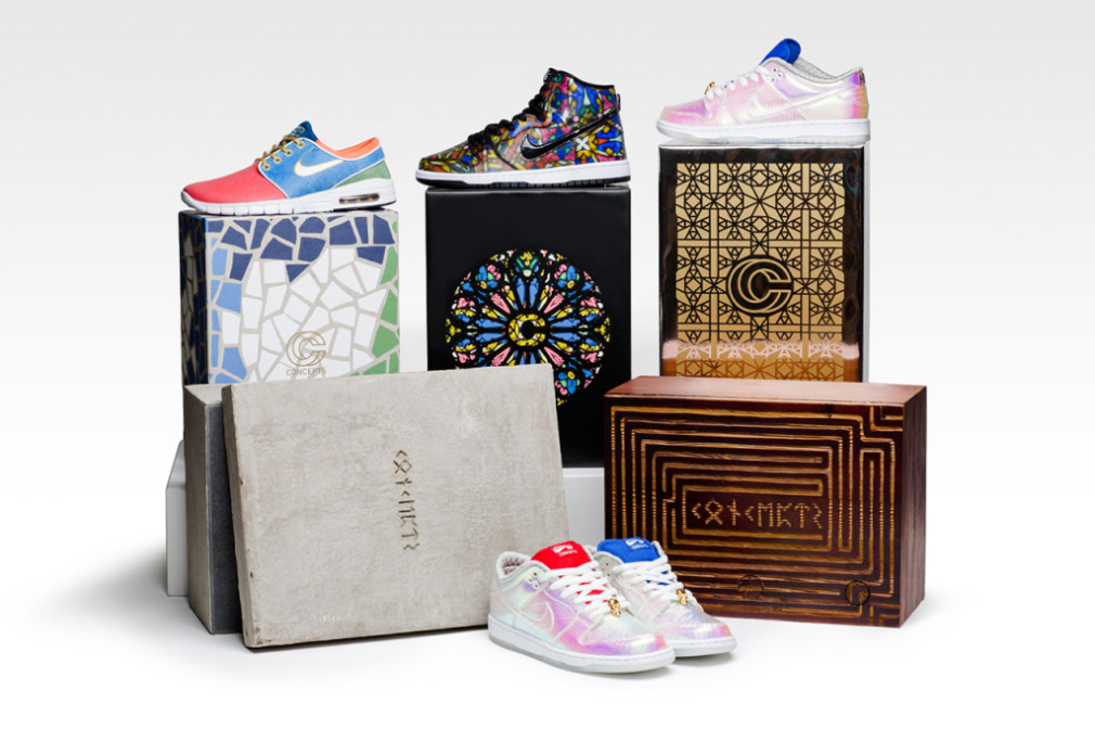 "Concepts x Nike SB ""Grail"" Pack"