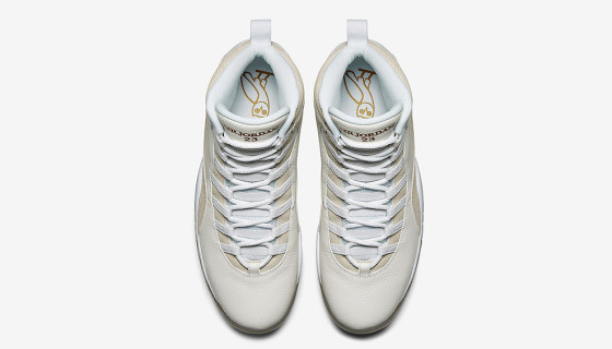 Drake x Air Jordan 10 'OVO' – Photos Officielles