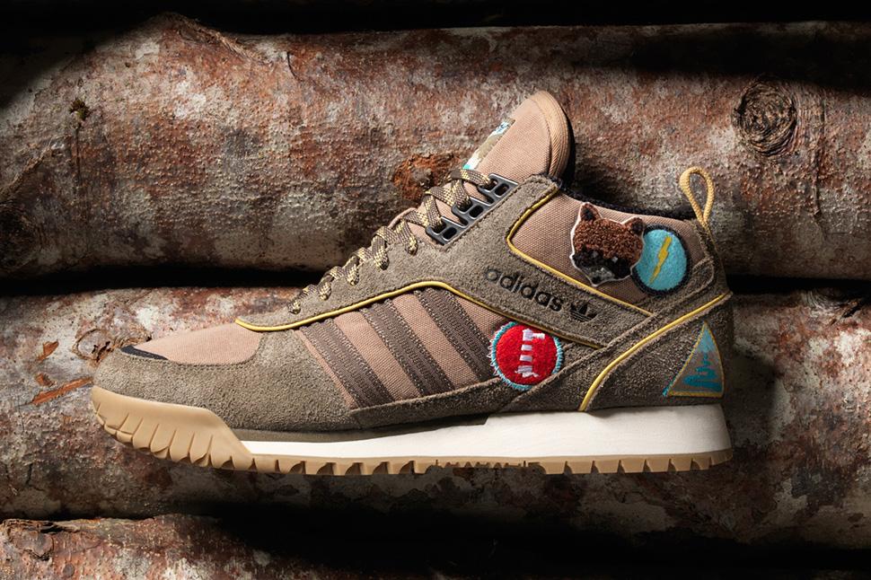 "Extra Butter x adidas ZX Flux & ZX Trail Mid ""Vanguard"" Pack"