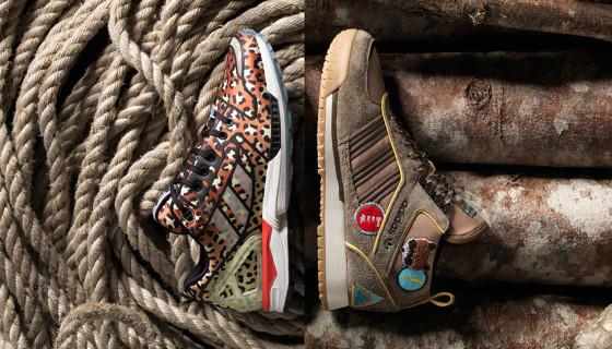 "Extra Butter & Adidas  ""Vanguard"" Pack"