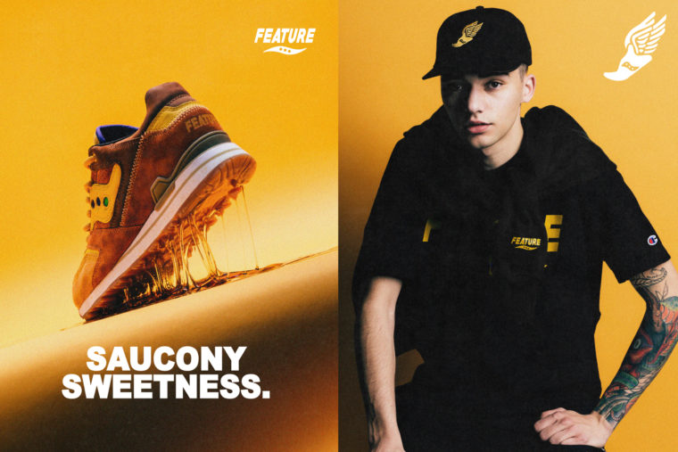 Feature x Saucony Courageous Belgian Waffle