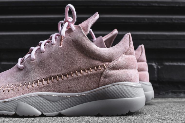 Filling Pieces Apache Runner Low Pink Suede