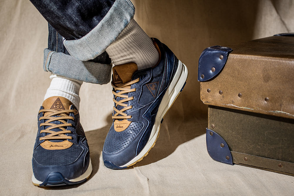 "Footpatrol x Le Coq Sportif LCS R800 ""Artisan"" Made in France"