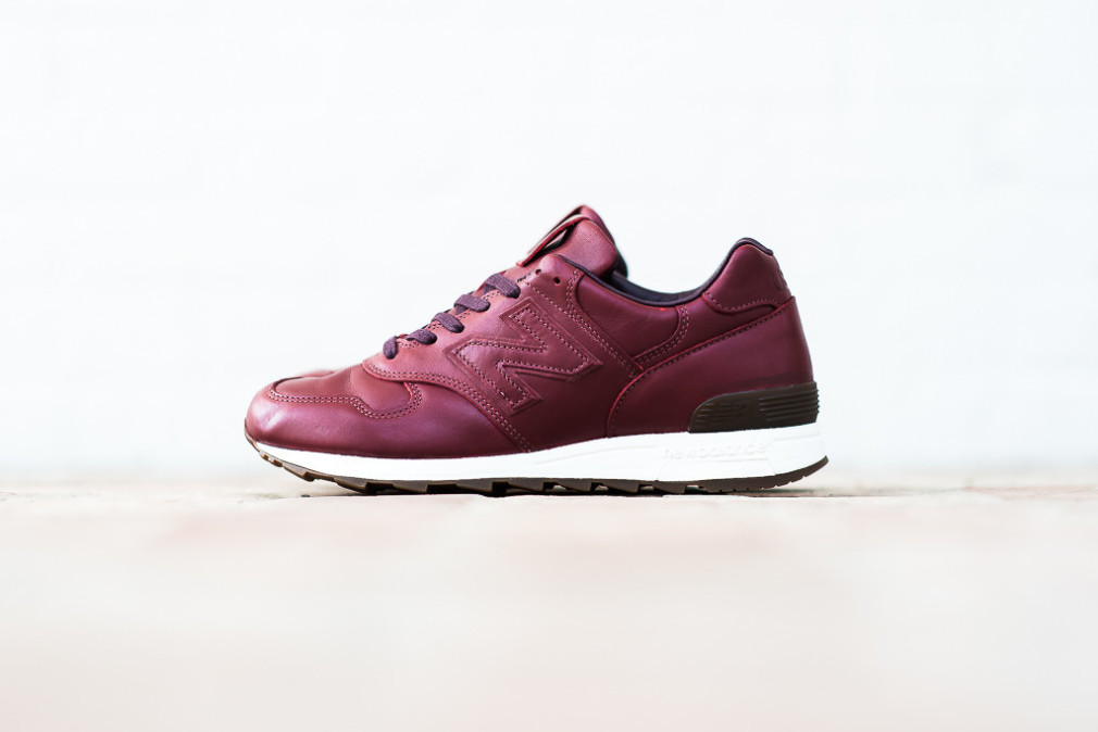 Horween Leathers x New Balance 1400