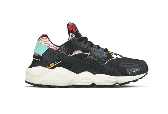 Nike Air Huarache Run Aloha Pack Sneakers Addict