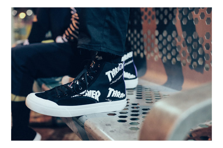 Huf x Trasher Tour de Stoops