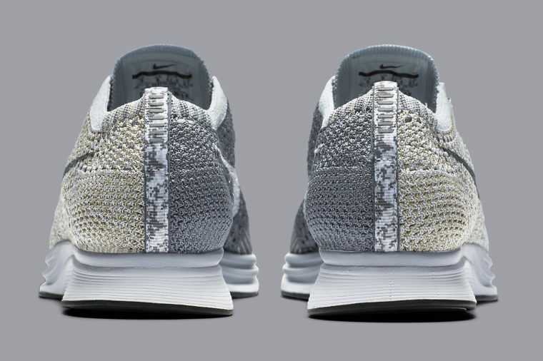 Nike Flyknit Racer Pure Platinium