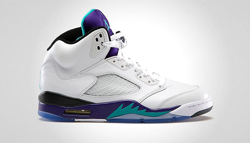 Air Jordan V Grape - Official pictures | SNEAKERS ADDICT