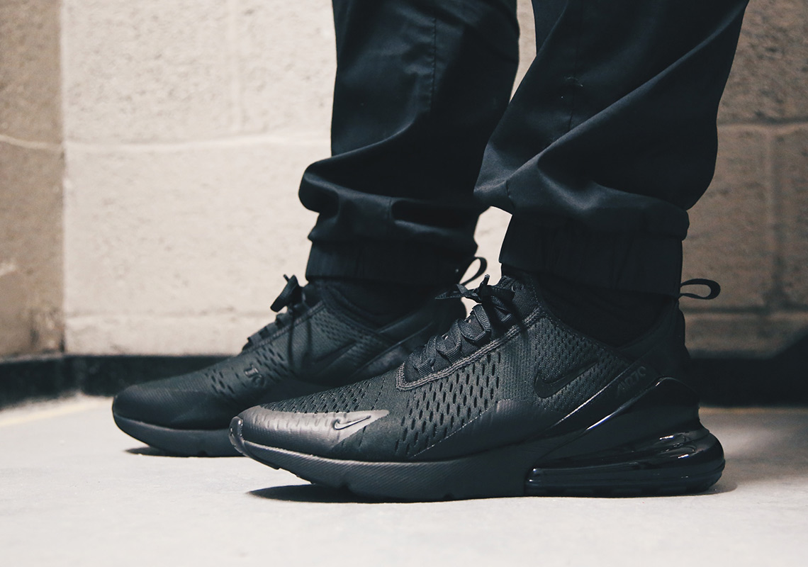 La Nike Air Max 270 Black en détails