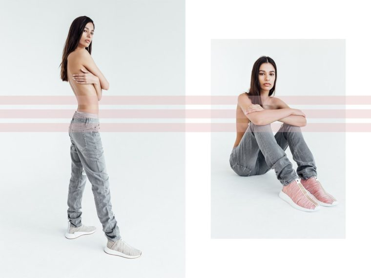 Naked x Kith x Adidas NMD CS2 Lookbook
